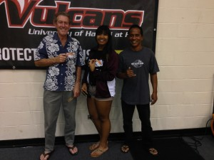 Congratulations to Our UH Hilo Winners for 10/19/13!