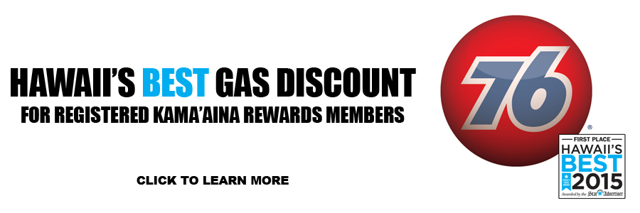 Hawaii's Best Gas Discount