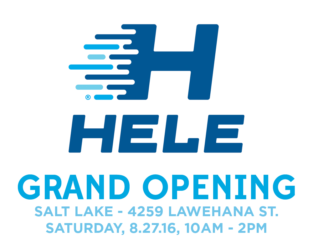 Hele Grand Opening - Salt Lake